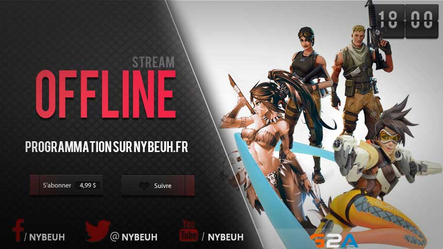 overlay de streaming twitch